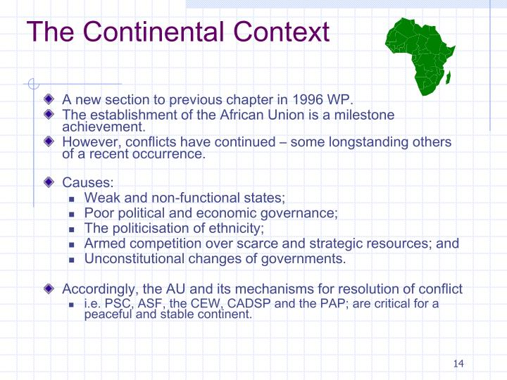 The Continental Context