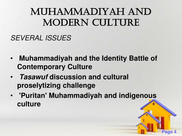 MUHAMMADIYAH AND MODERN CULTURE