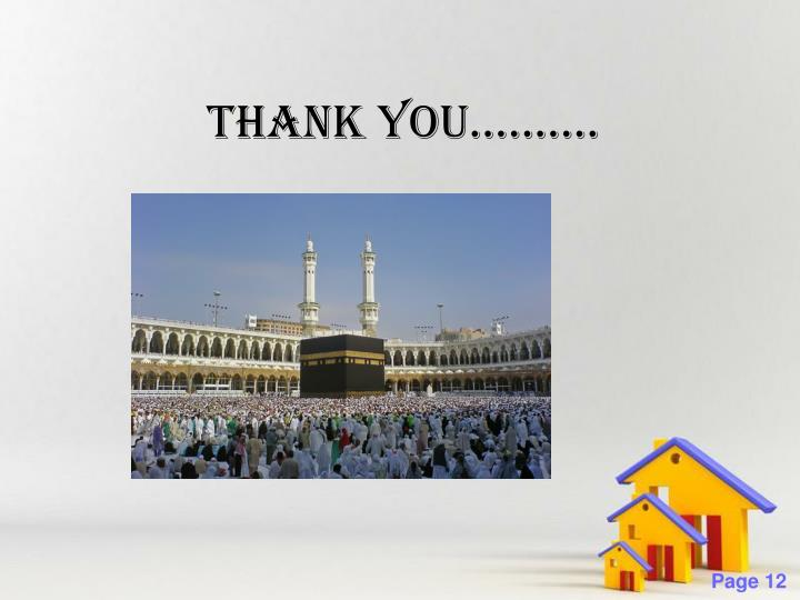 THANK YOU..........