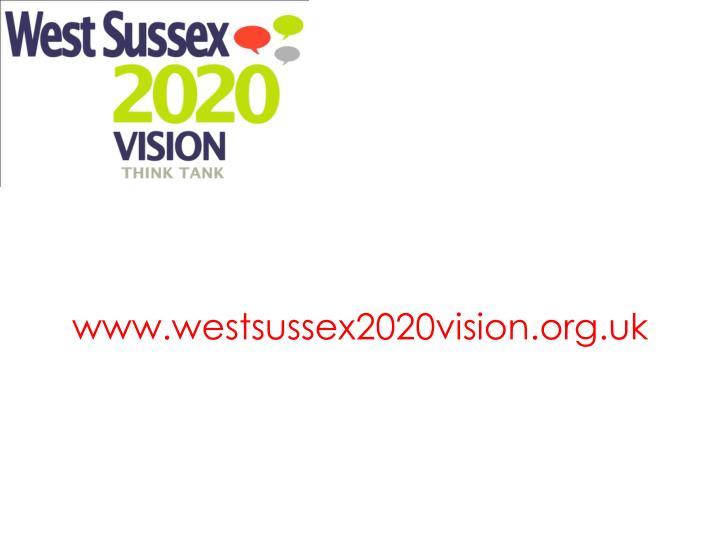 www.westsussex2020vision.org.uk