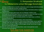 5 persyaratan struktural 5 2 mekanisme untuk menjaga kenetralan