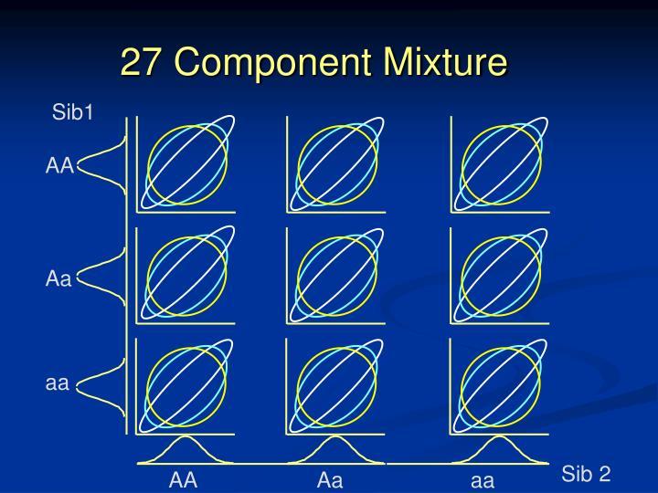 27 Component Mixture