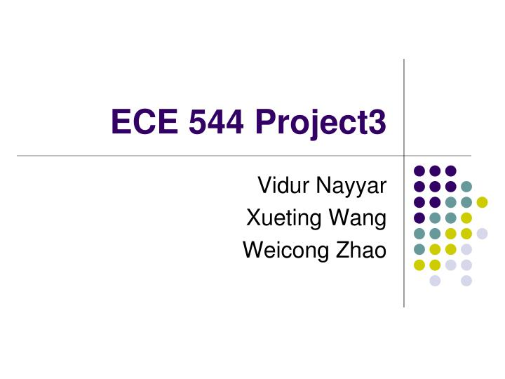ECE 544 Project3