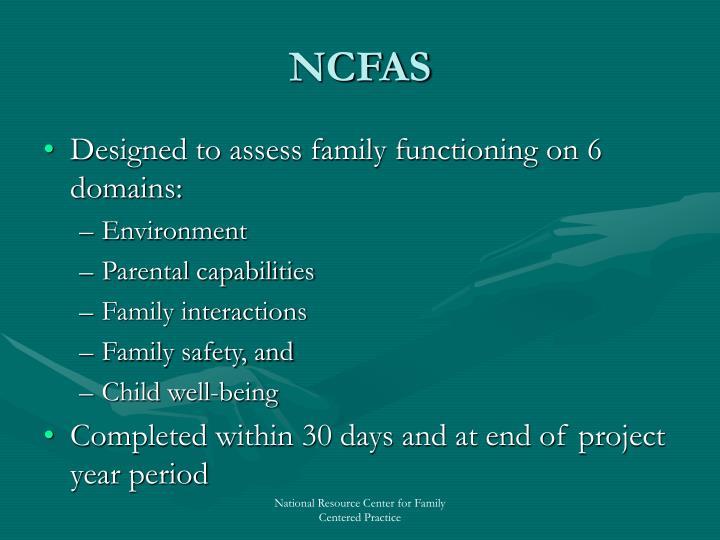 NCFAS