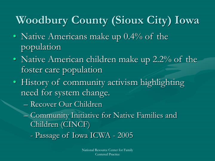 Woodbury County (Sioux City) Iowa