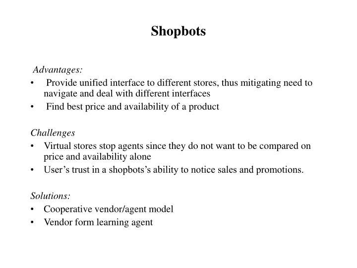 Shopbots