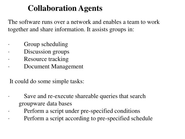 Collaboration Agents