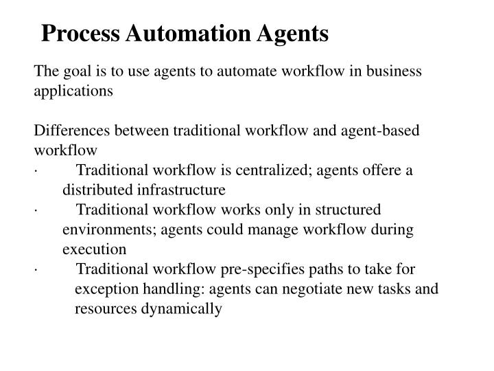 Process Automation Agents