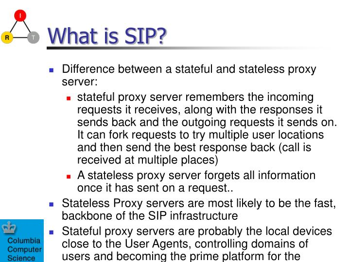 What is SIP?