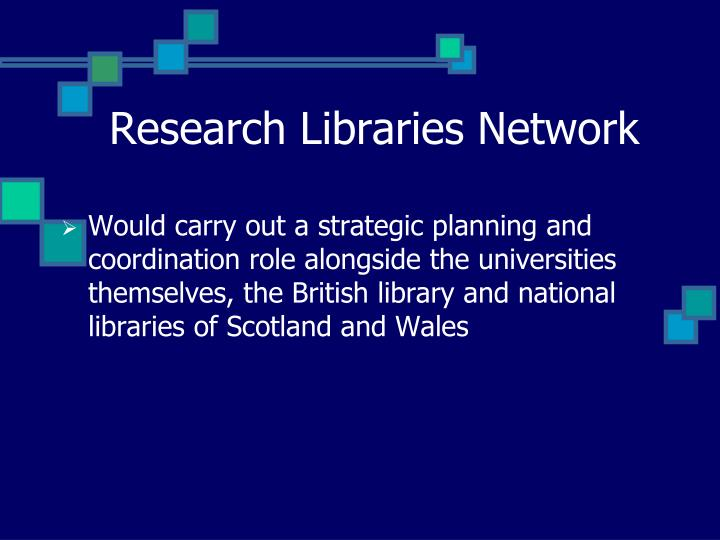 Research Libraries Network