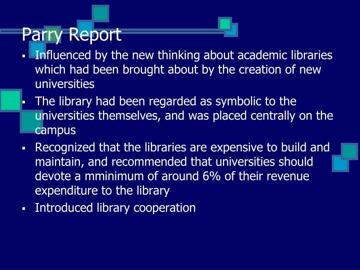 Parry Report