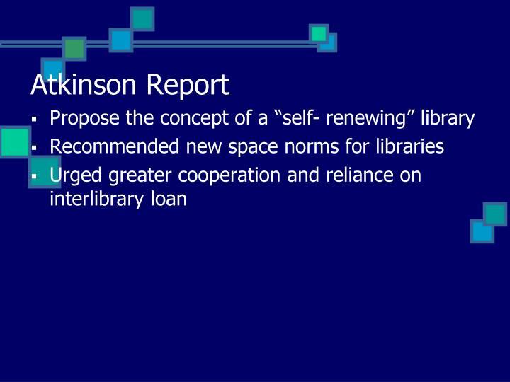 Atkinson Report