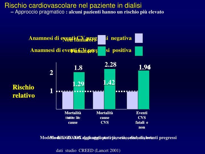 Rischio cardiovascolare nel paziente in dialisi