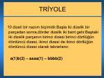 tr yole