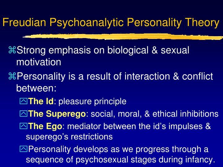 Freudian Psychoanalytic Personality Theory