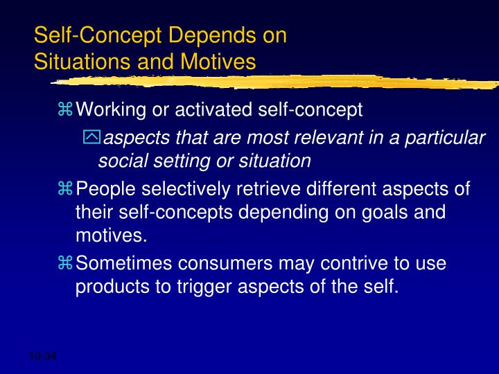 Self-Concept Depends on