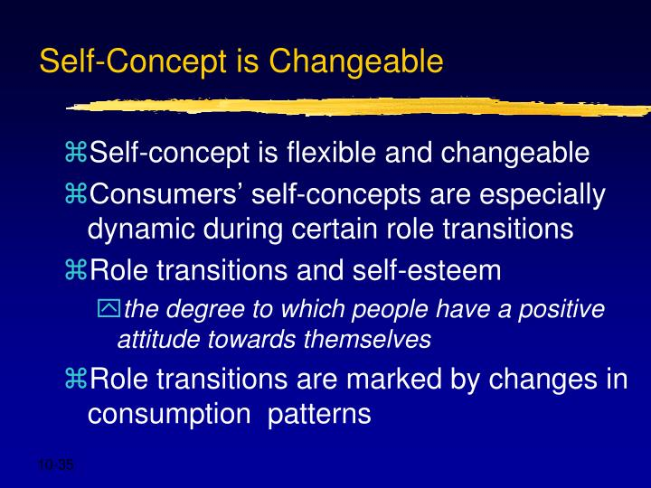 Self-Concept is Changeable