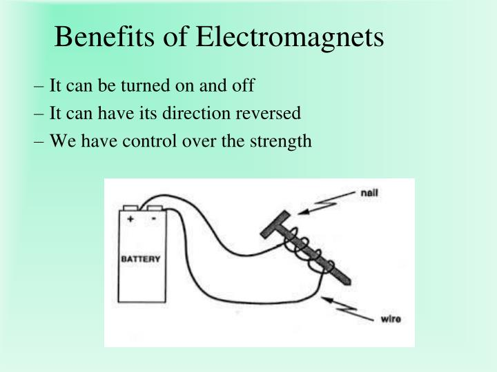 Benefits of Electromagnets