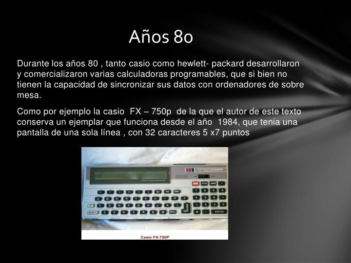 Años 80