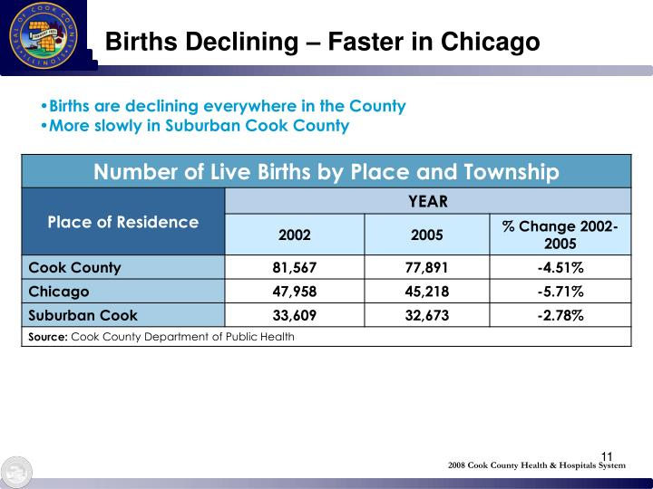 2008 Cook County Health & Hospitals System