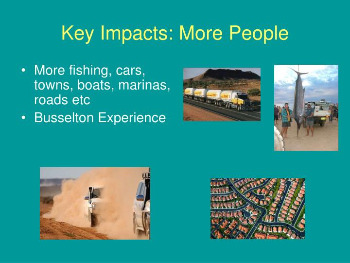 Key Impacts: More People