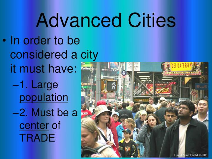 Advanced Cities