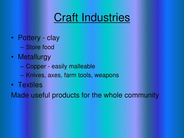 Craft Industries