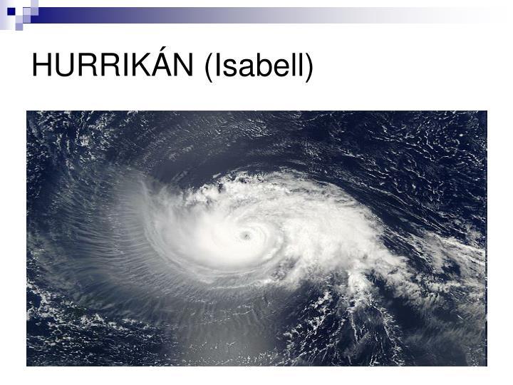 HURRIKÁN (Isabell)