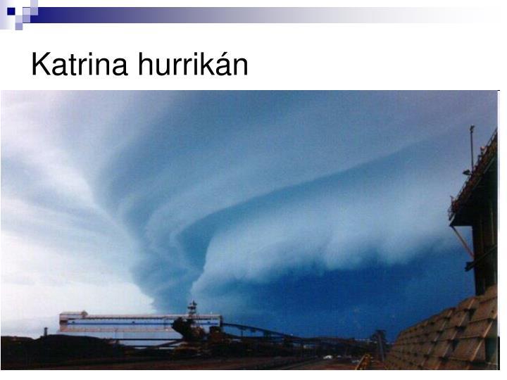 Katrina hurrikán