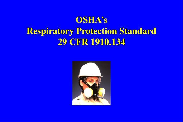 OSHA's