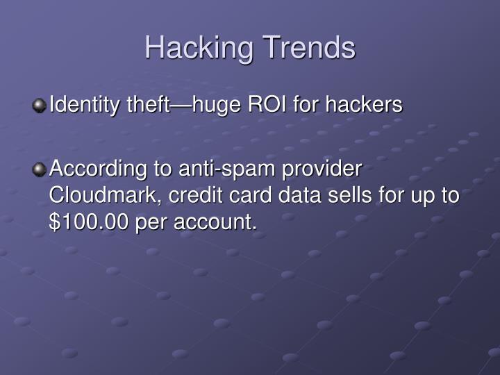 Hacking Trends