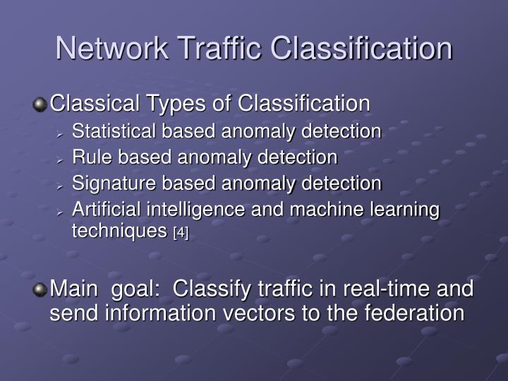 Network Traffic Classification