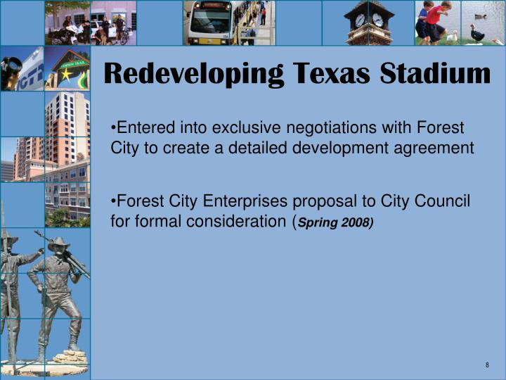 Redeveloping Texas Stadium