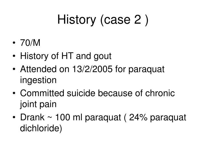 History (case 2 )