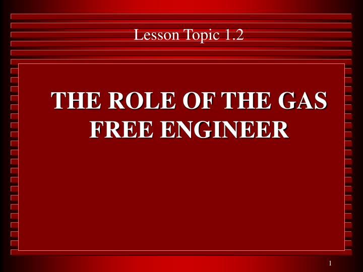 Lesson Topic 1.2