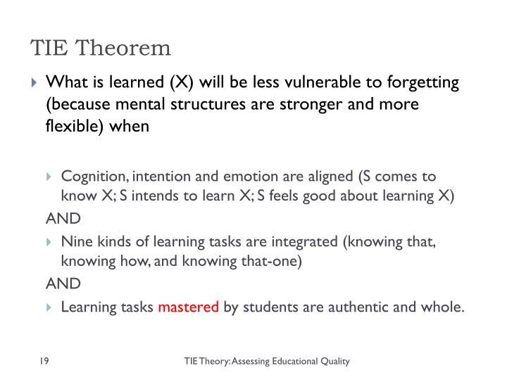 TIE Theorem