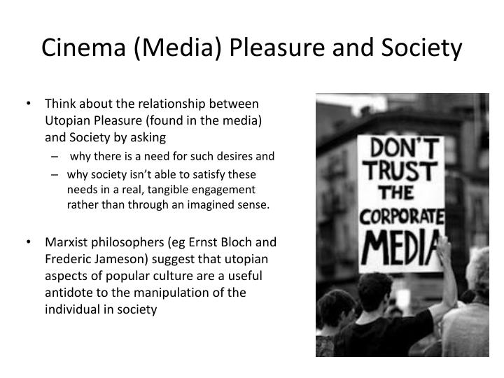 Cinema (Media) Pleasure and Society