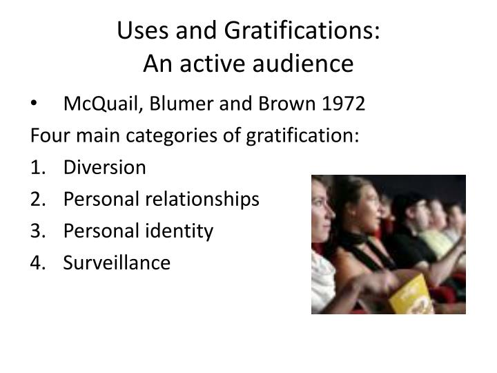 Uses and Gratifications: