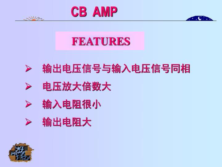CB  AMP