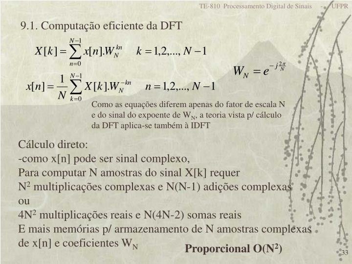 TE-810  Processamento Digital de Sinais     -     UFPR