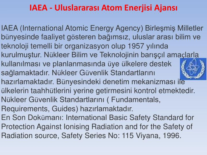 IAEA (International
