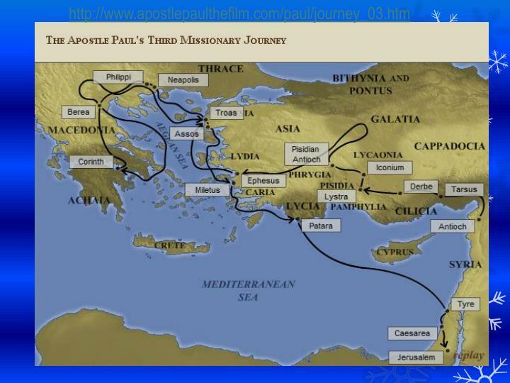http://www.apostlepaulthefilm.com/paul/journey_03.htm