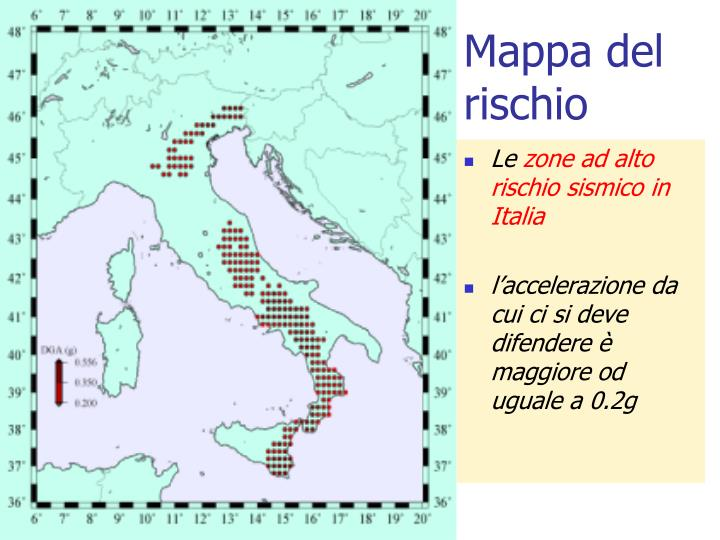 Mappa del rischio