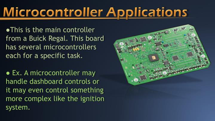 Microcontroller Applications