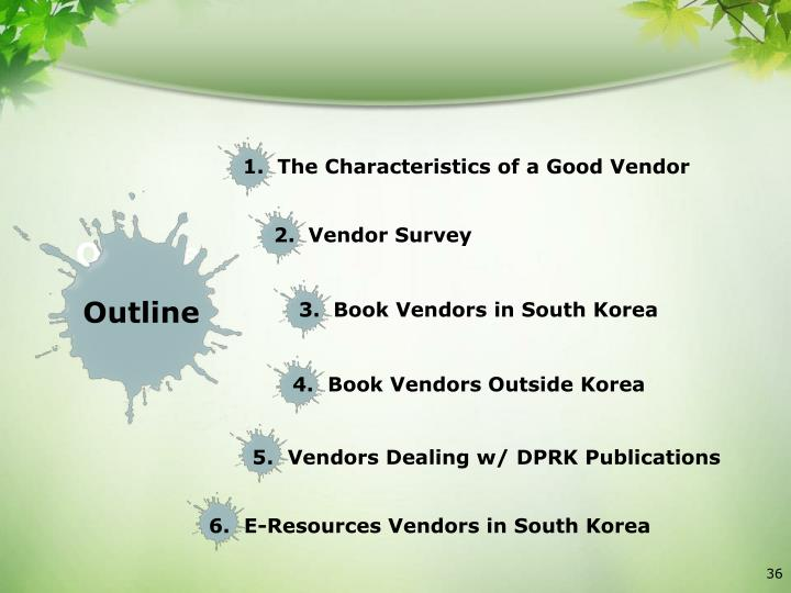 3.  Book Vendors in South Korea