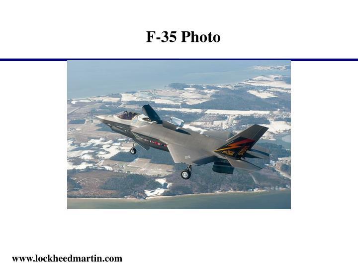 F-35 Photo