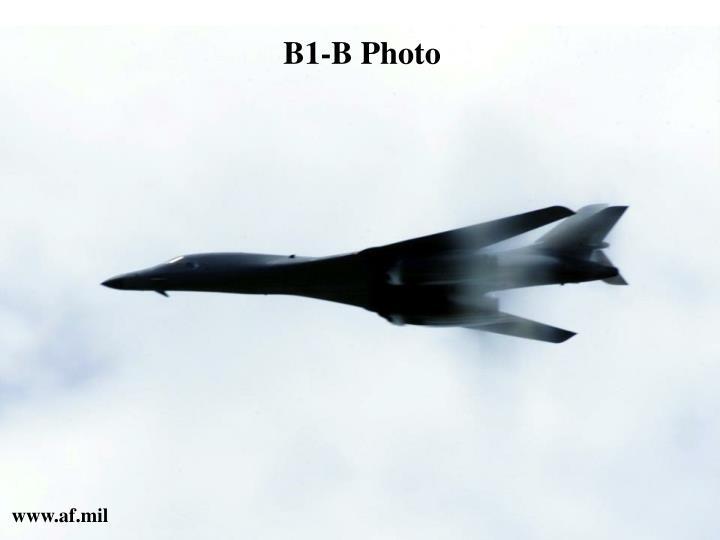 B1-B Photo