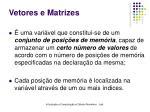 vetores e matrizes1