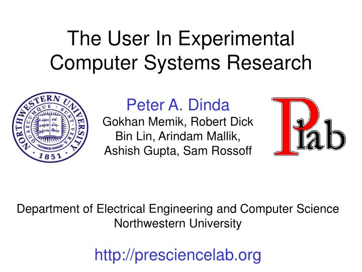 The User In Experimental