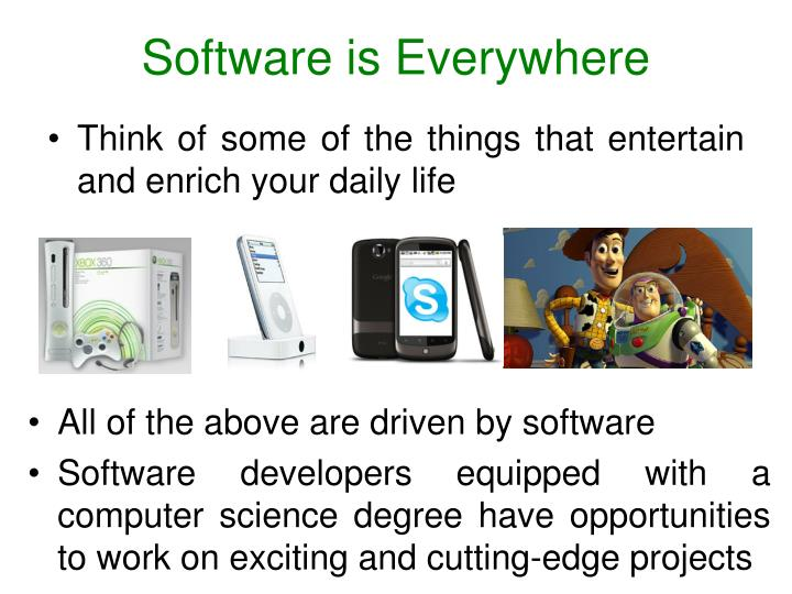 Software is Everywhere
